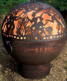 Full Moon Fire Bowl -----(I LOVE IT! I WANT IT! WHO'LL GET IT FOR ME!??? LOL!!!! :DDDDD)