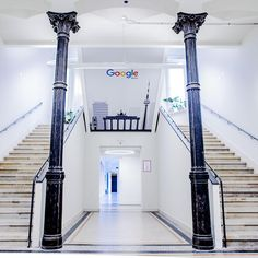 A TOUR OF GOOLGE'S BERLIN OFFICE! 📷  officedropin.com #offices @google #work #artist #love #instagood #staging #working #business #light #officedecor #architecture #artistoninatagram #company #Berlin #google #followme #interiordesign #picoftheday #beautiful #modernart #office #stairs #style #agencydesign #repost #officelife #illusion #workspacedesign  #tours #steps Office Ideas, Office Decor, Workspace Design, Design Agency, Staging, Offices, Illusion, Berlin, Tours