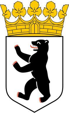 Coat of arms of Berlin. Parece com o dos Bernardo (Bernhardt), os dois tem Ber :)
