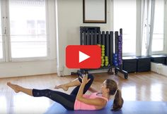 You'll feel the burn—in a good way. #Pilates #abs #core #workout http://greatist.com/move/pilates-workout-for-stronger-abs