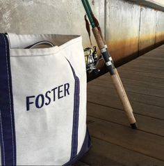 L.L.Bean Boat and Tote Bags - Made in Maine (Photo via Instagram: saltyfoster)
