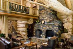 Log Cabin LivingRoom!