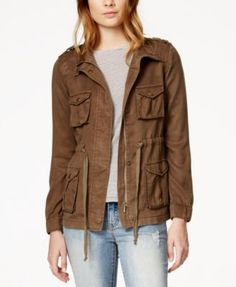 Hooded Utility Jacket | Forever 21 - 2000140967 | The ...