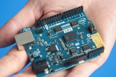 For $30, Intel's Arduino 101 board provides an easy path for makers to build a wearable computer, a mini-robot or a smart appliance for the home.