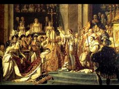 "From Beethoven's 'Pathétique' piano sonata.    (Picture: ""The Coronation of Napoleon"", 1807, by Jacques-Louis David)"