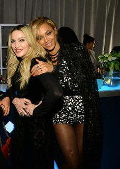 Beyonce Knowles Carter & Madonna