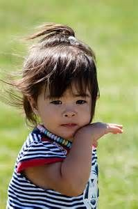 Cute Vietnamese child