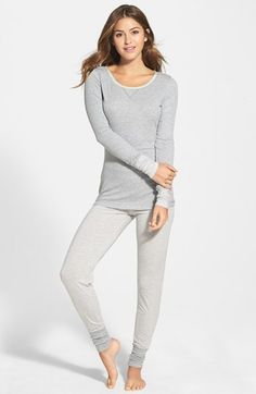 50610a5e18 Free shipping and returns on Splendid  Always  Jersey Pajamas at  Nordstrom.com.