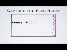 Capture The Flag Relay | PHYSEDGAMES - throwing, catching and movement (will need to learn to throw a football)