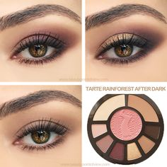 Tarte Rainforest After Dark Tutorial
