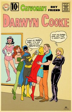 The Ladies of DC Comics Love Darwyn Cooke