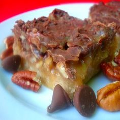 Caramel Butter-Pecan Bars Recipe - Food.com