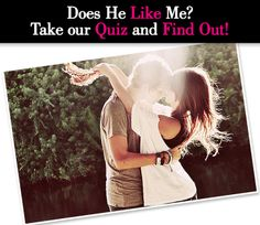 Not sure how he feels about you? Find out with this quiz!