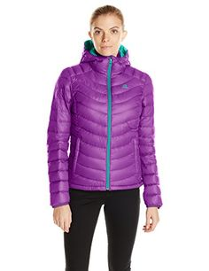 Salomon Womens Halo Down Hoodie II Little Violette XLarge *** Click on the image for additional details. This is an Amazon Affiliate links.