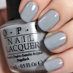 OPI Cement the Deal #50ShadesofGrey #swatch #polish #nails