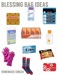 Blessing Bag Ideas Another Target Giftcard Giveaway
