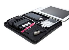 I like this enough to possibly purchase. Just charge the large battery and it charges the rest!