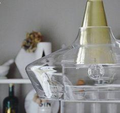 Glass shade & brass metal pendant lamp Laaka - Väre