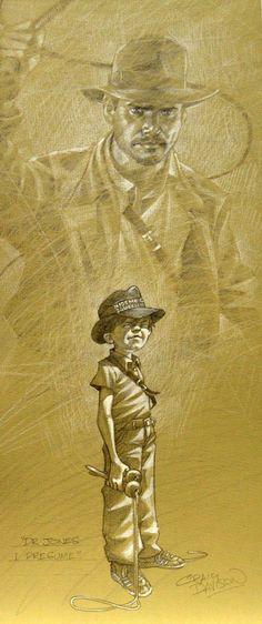 Superhero Kids - Dr. Jones, I Presume by Craig... - Art Vault