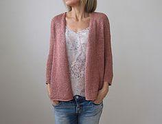 Quick Sand by Heidi Kirrmaier Knit in Quince & Co Kestrel, a 100% linen yarn