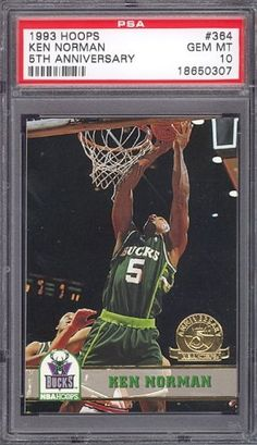 1993 Hoops 5th Anniversary #364 Ken Norman PSA 10 pop 2 by Hoops. $6.00. 1993 Hoops 5th Anniversary #364 Ken Norman PSA 10 pop 2. If multiple items appear in the image, the item you are purchasing is the one described in the title.
