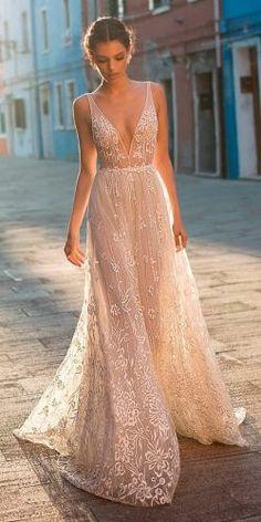 Beach Wedding Dresses Perfect For Destination Weddings ★ See more: https://www.weddingforward.com/beach-wedding-dresses/2