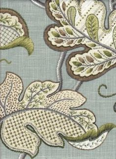 Grino Bluegreen - www.BeautifulFabric.com - upholstery/drapery fabric - decorator/designer fabric