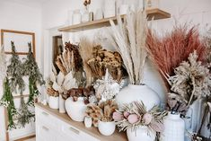 Because we simply cannot get enough of our gorgeous dried flower bar. Come and explore it for yourself at 23 Kayeligh Drive, Maroochydore or view a selection online - enjoy x Exotic Flowers, Purple Flowers, Dried Flowers, Beautiful Flowers, Flower Bar, Flower Shops, Cactus Flower, Flower Shop Interiors, Flower Shop Design