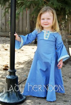 My Narnia: Lucy the Valiant Dress from The Lion, The Witch, and The Wardrobe - Sizes 2T, 3T, 4T, and 5