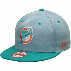 new concept 90901 f1aa9 Men s Miami Dolphins NFL Athlete Designed by Kenny Stills New Era Aqua  Snapback Adjustable Hat