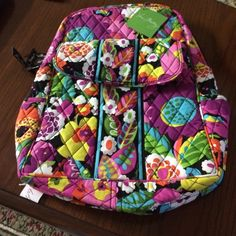 Vera Bradley Backpack New w/Tags - Va Va Bloom Vera Bradley Backpack in Va Va Bloom . Nice size for everyday or student. New with tags Vera Bradley Bags Backpacks