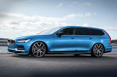 Autocar's impression of how the Volvo V90 Polestar might look