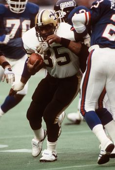 Saints acquired Earl Campbell October 9, 1984 ~ Saints acquired RB Earl Campbell from Houston for Saints' first-round draft choice in 1985.