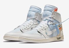 pretty nice d6403 6bb67 Nike OFF WHITE x Air Jordan 1 Herren Mode, Weiße Jordans, Nike Air Jordans
