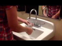 Video Model: Washing Hands