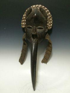 Tribal Art Dan Beak Mask | eBay