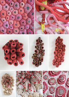 Emily Barletta lovely crochet art