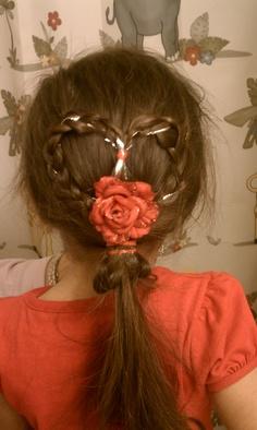 Valentine's day hair:)