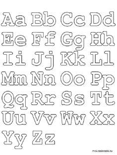 Free Printable Print Manuscript Handwriting Alphabet