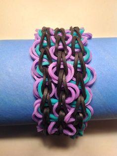 Ally's latest creation called the TRIPLE SWIRL Bracelet.