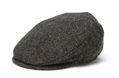 Vintage Irish Donegal Tweed Cap Brown Salt and Pepper from www.IrishShop.com. Stylish, Vintage Cap. Made in Ireland from the finest Donegal Tweed in a handsome Brown, Salt & Pepper style.