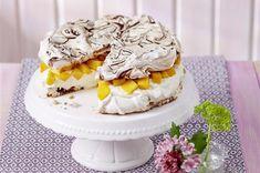Schoko-Torte mit Mango