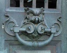 Owl Door Knocker by Monceau