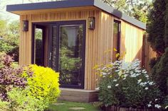 Gallery | Insulated Garden Rooms | Outside In Summer Houses Uk, Summer House Garden, Home And Garden, Garden Office Shed, Backyard Office, Insulated Garden Room, Outdoor Garden Rooms, Gym Room, Tiny House Cabin