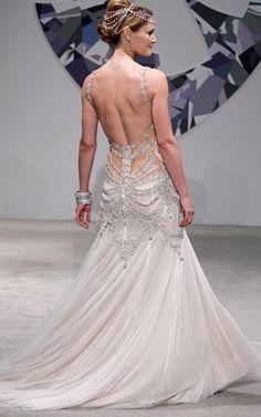 pnina tornai corset wedding dresses   bridal gown kleinfeld wedding fashion