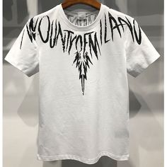 Marcelo Burlon 2018 Mens T-Shirt County Wings T-Shirt White Discount Clothing, Cheap Clothes, Wings, Iphone Cases, Men, Shopping, Feathers, I Phone Cases, Guys