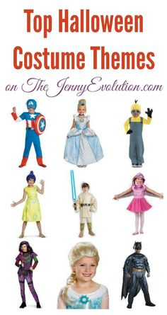 Top Halloween Costume Themes | The Jenny Evolution