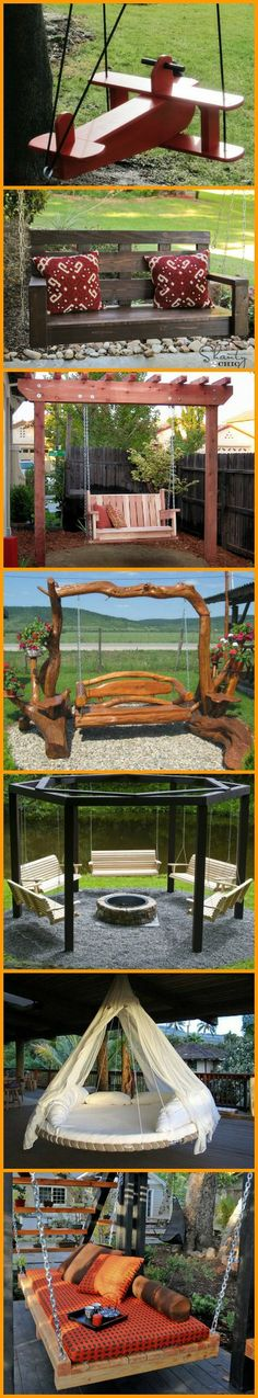 #1 is definitely a winner! Find the homemade swing that will inspire you, and learn how to make your own! http://theownerbuildernetwork.co/a2u3