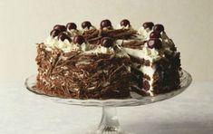 Τούρτα με σοκολάτα και κεράσια (Black Forest) - iCookGreek