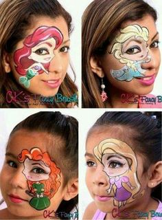 Disney face paint
